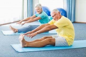 Seniorenyoga - Bewegung im Alter