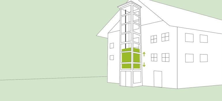 Bekannt Außenlift » Der Treppenlift für außen / draußen | Pflege.de CO56