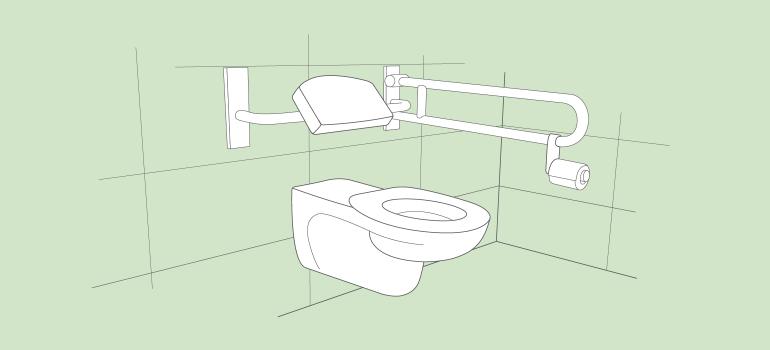 Barrierefreies WC