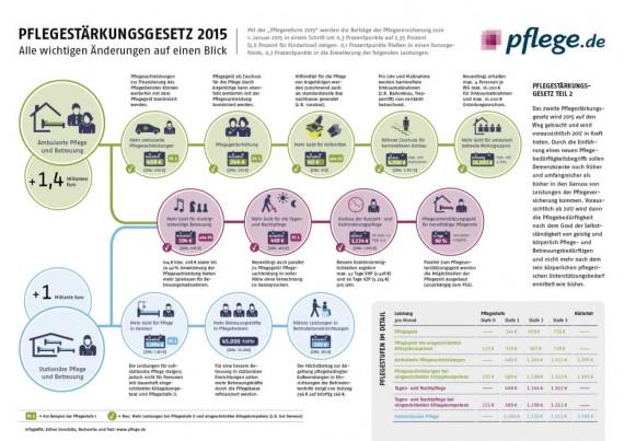 Infografik Pflegestärkungsgesetz I (PSG I)